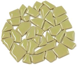 Flip keramische mini mozaïek lime groen bakje à 65 gram