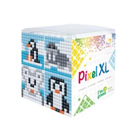 Pixelhobby XL mosaic kubussetje pooldieren 6,2 x 6,2 cm