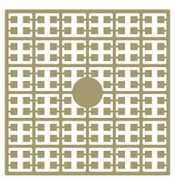 Pixelhobby matje 140 pixels nummer 228 sisalbruin licht