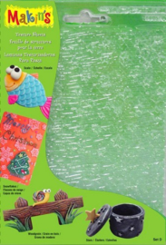 Makin's Clay klei structuur sheets set D 4 sheets assorted