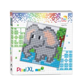 Pixelhobby Pixel XL set olifant 12 x 12 cm