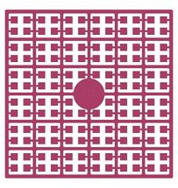 Pixelhobby matje 140 pixels nummer 218 cranberryroze heel donker