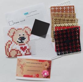 Pixelhobby compleet pakket puppy magneet