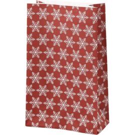 Vivi Gade Design papieren zakken ijskristallen 10 stuks 80 grams 21 x 6  x 12 cm