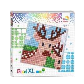 Pixelhobby Pixel  XL set hert 12 x 12 cm