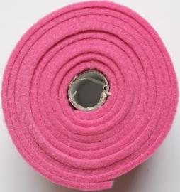 HobbyFun Trendy viltband roze 1,5 m lang 4 cm breed en 3 mm dik