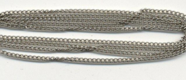 Uit-Hobby Hobby & Crafting Fun metalen ketting platinum 1,9 mm x 1 meter