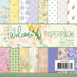 Jeanine's Art Welcome Spring 15,2 x 15,2 cm JAPP10018