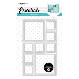 Studio Light Essentials cutting die blokvorm kaart nummer 15 SL-ES-CD15