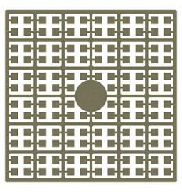 Pixelhobby matje 140 pixels nummer 227 sisalbruin