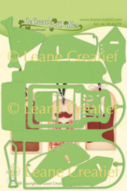 Leane Creatief LeCrea'3-D dies (mallen) small box for men 45.6579
