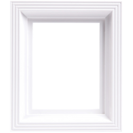 Pixelhobby kunststof lijst frame wit 14,6 x 17,2 cm dikte 2,5 cm
