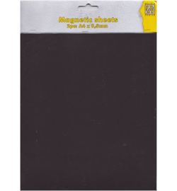 Nellie's Choice magnetic sheets (magneetvellen) 2 stuks A4 0,5 mm MAG004