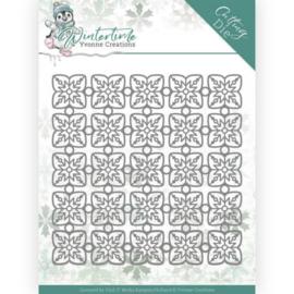 Yvonne Creations Winter Time die (mal) snowflake pattern YCD10214