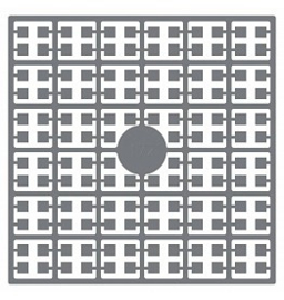 Pixelhobby matje 140 pixels nummer 172 granietgrijs