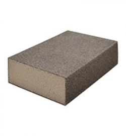 Schuurblok met fijne 100 korrel 100 x 70 x 25 mm