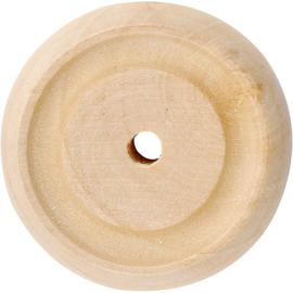 Made of Wood houten wielen china berry 8 stuks Ø 3 cm dikte 1 cm
