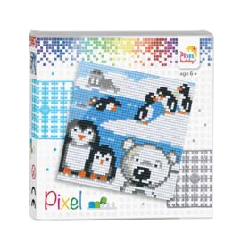Pixelhobby Pixel set pooldieren 12 x 12 cm