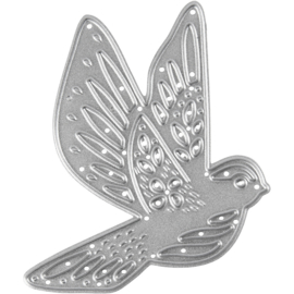 Creotime Tools die cut snijmal vogel 5,6 x 6 cm