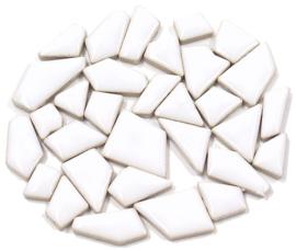 Flip keramische mini mozaïek wit bakje à 65 gram