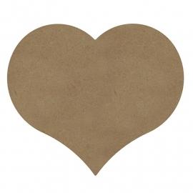 Gomille MDF hart 26 x 24 cm dikte 6 mm