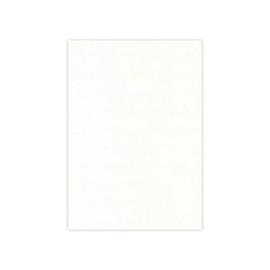 Card Deco linnenkarton vierkant (27 x 13,5 cm) gebroken wit 20 vellen 240 grams