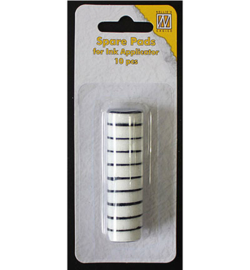 Nellie's Choice foam refill pads round 10 stuks SIAP003 voor de IAP004