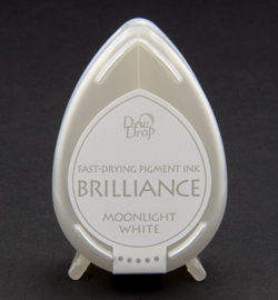 Tsukineko Brilliance Pigment Ink Moonlight White Dew Drop BD-080