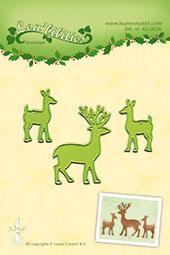 Leane Creatief Lea'bilities deer snij en embossing dies (mal) 45.0836
