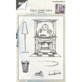 Joy!Crafts Home sweet home clear stempel  6410/0422