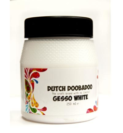 Dutch Doobadoo gesso white pot 250 ml 870.002.10