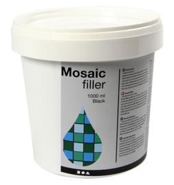 Mosaic filler (mozaïek voegsel) kant en klaar zwart emmer 1000 ml