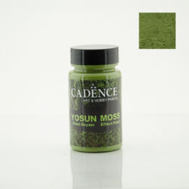 Cadence Yosun moss effect paint 3640 dark green potje 90 ml