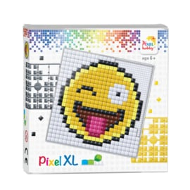 Pixelhobby Pixel XL set smiley 12 x 12 cm
