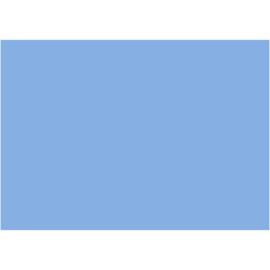 EVA Foam vellen licht blauw 10 stuks A4 21 x 30 cm dikte 2 mm