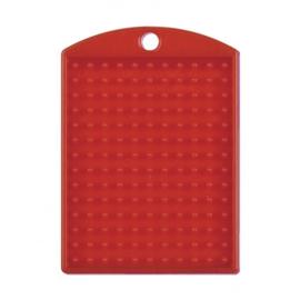 Pixelhobby medaillon plaatje rood 3 x 4 cm