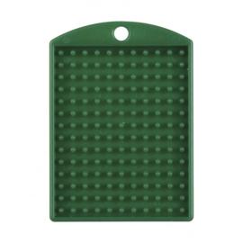 Pixelhobby medaillon plaatje groen 3 x 4 cm