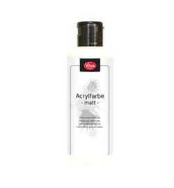 Viva Decor Acrylic paint (acrylverf) matt white (wit) 82 ml 125910013