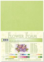 Leane Creatief Flower Foam vel A4 pastel green (pastel groen) 25.4292 dikte 0,8 mm