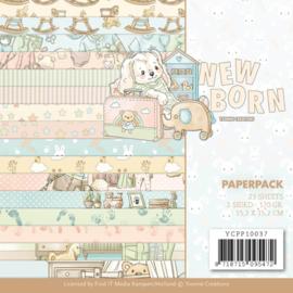 Yvonne Creations Paperpack 15,2 x 15,2 cm Newborn YCPP10037