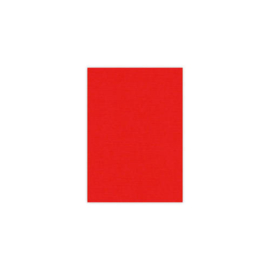Card Deco linnenkarton A5 (14,8 x 21) rood 25 vellen 240 grams