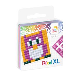 Pixelhobby XL fun pack uil 6,2 x 6,2 cm
