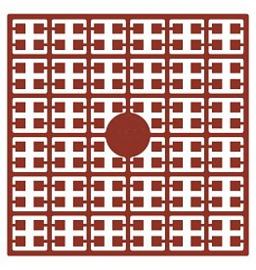 Pixelhobby matje 140 pixels nummer 160 terracotta donker