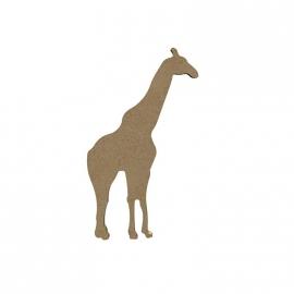 Gomille MDF giraf 9,2 x 18 cm dikte 5 mm