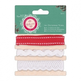 Docrafts Papermania I m Christmas Trims 3 stuks PMA 358902