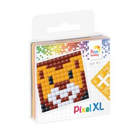 Pixelhobby XL fun pack leeuw 6,2 x 6,2 cm