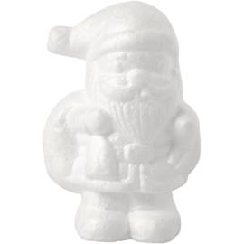 Styropor (piepschuim) Kerstman wit 7 x 5 x 11 cm