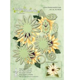 Leane Creatief LeCrea Multi dies (mallen) Flower 006 45.9630