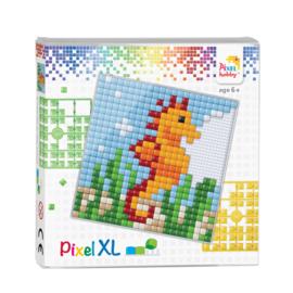 Pixelhobby Pixel XL set zeepaardje 12 x 12 cm