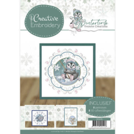 Yvonne Creations Winter time Creative Embroidery CB10019